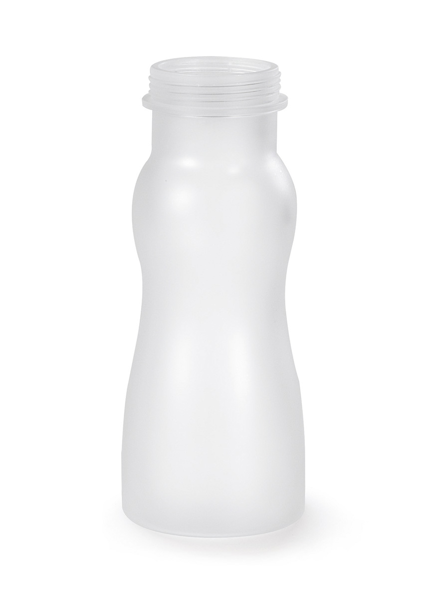 16 Oz. Salad Dressing Bottle, Frosted Clear