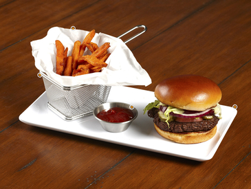 10. Creative Ways to Serve Entrée: Burger and Fries