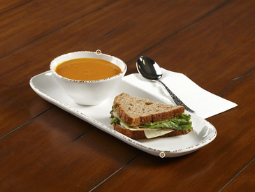 10. Creative Ways to Serve Entrée: Soup and Sandwich