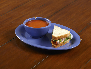 12. Creative Ways to Serve Entrée: Soup and Sandwich
