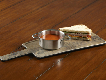 2. Creative Ways to Serve Entrée: Soup and Sandwich