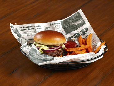 3. Creative Ways to Serve Entrée: Burger and Fries