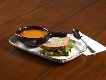 3. Creative Ways to Serve Entrée: Soup and Sandwich