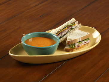 8. Creative Ways to Serve Entrée: Soup and Sandwich
