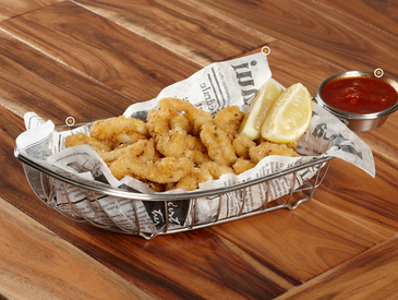 2. Creative Ways to Serve Appetizers: Calamari