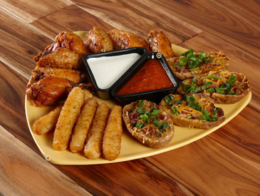 8. Creative Ways to Serve Appetizers: Appetizer Sampler Platter