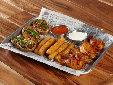 1. Creative Ways to Serve Appetizers: Appetizer Sampler Platter