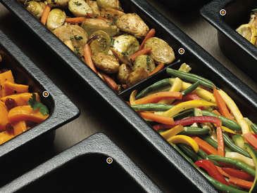 1. Bugambilia® Food Pans
