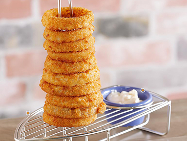 5. Creative Ways to Serve Appetizers: Onion Rings