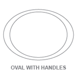 Plates:Oval With Handles
