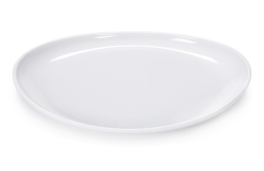 """13.25"""" x 9.5"""" Oval Coupe Platter"""