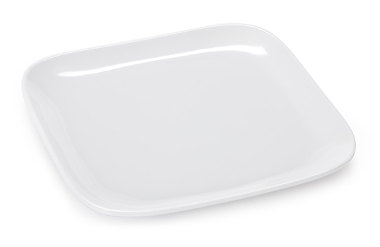 """7.5"""" Square Coupe Plate"""