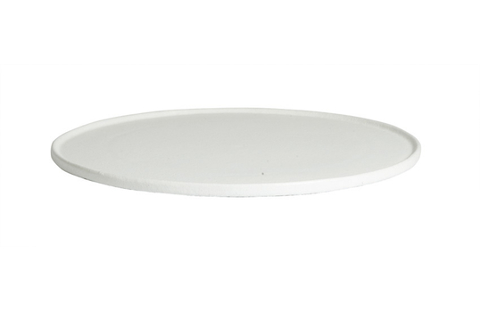 """23.9"""" XX Large Round Disc with Rim, Classic Finish"""