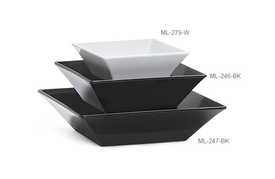 "2.5 qt., 10"" Square Bowl"
