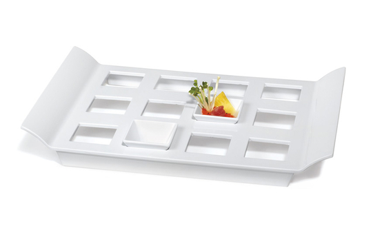 """18"""" x 13"""" Tray with 12 Square Slots for ML-257"""