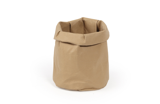 "4.75"" Dia. Washable & Reusable Paper Bag / Bread Basket"