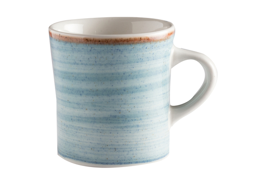 11 oz. Blue Porcelain Mug