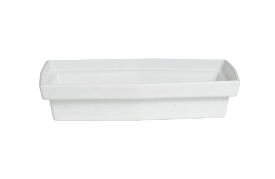 1.1 qt. S Rectangular Platter, Mod Finish