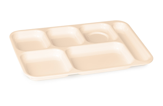"""14.25"""" x 9.75"""" Right Handed 6-Compartment Tray"""