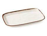 "12"" x 7.5"" Irregular Rectangular Platter"