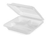 3-Compartmant Polypropylene, Food Reusable Container