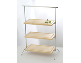 "20"" x 12"" Rectangular 3-Tier Riser"