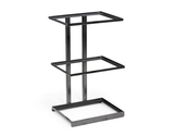 "12"" x 9.25"" Rectangular 3-Tier Merchandiser Stand, 20.5"" tall"