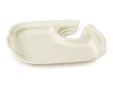 """9.75"""" x 9"""" Party Plate w/Slot to Hold Drinks"""