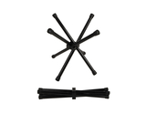 "12"" Tall, Black, Powder Coated Aluminum, Folding Chopsticks Stand"